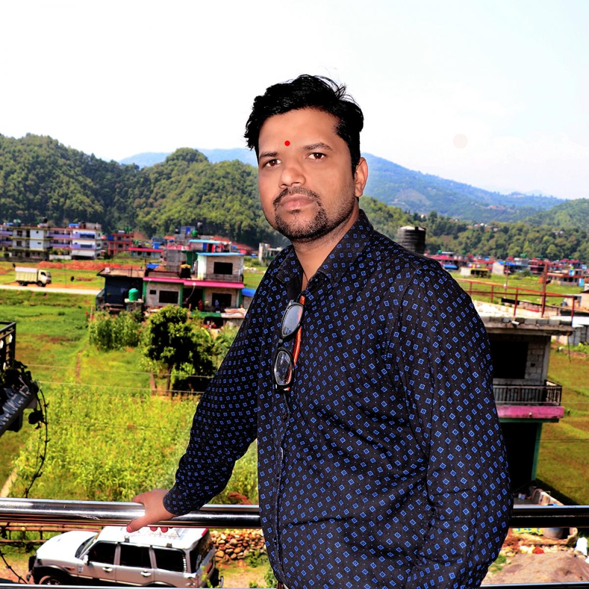 Mr. Bindraban (Bipin) Khatiwada Chitwan District Coordinator