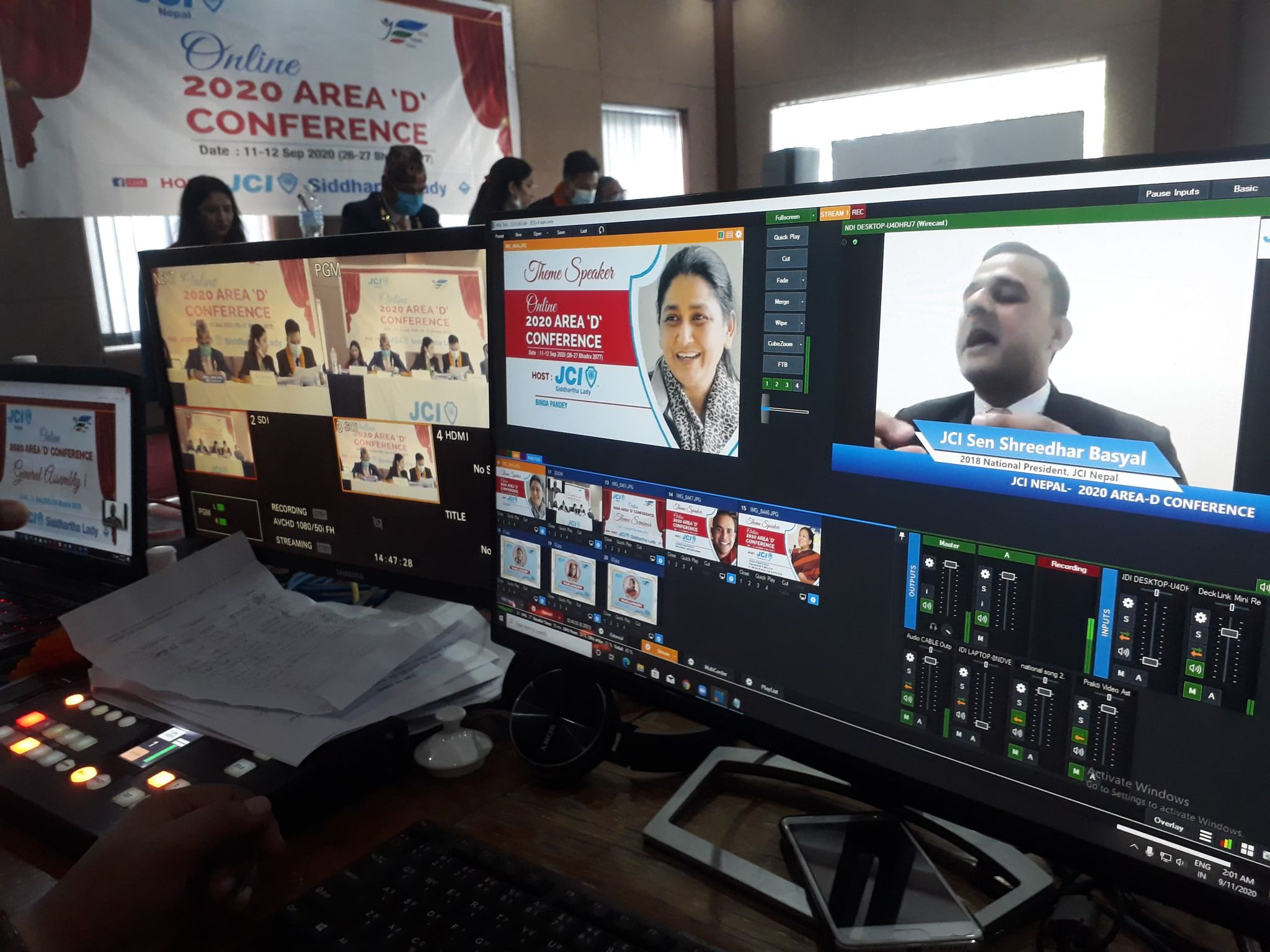 Virtual Conference Live Streaming
