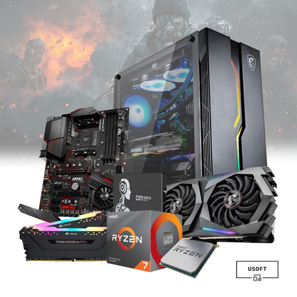 AMD Ryzen 7 3700x Gaming PC
