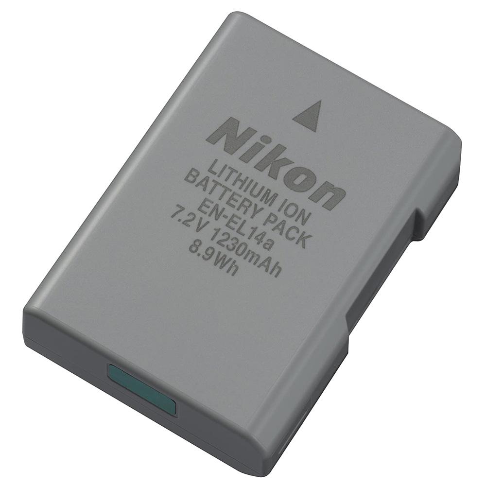 Nikon EN-EL 14A Rechargeable Li-Ion Battery (Black)