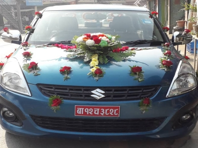 Buy Wedding Car decoration Online Price in Kathmandu, Nepal