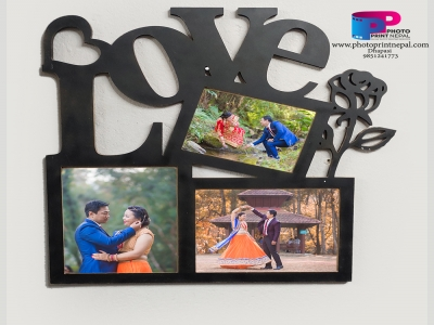 Photo Frames Love 3 Set Photo 25x24in - 1pcs